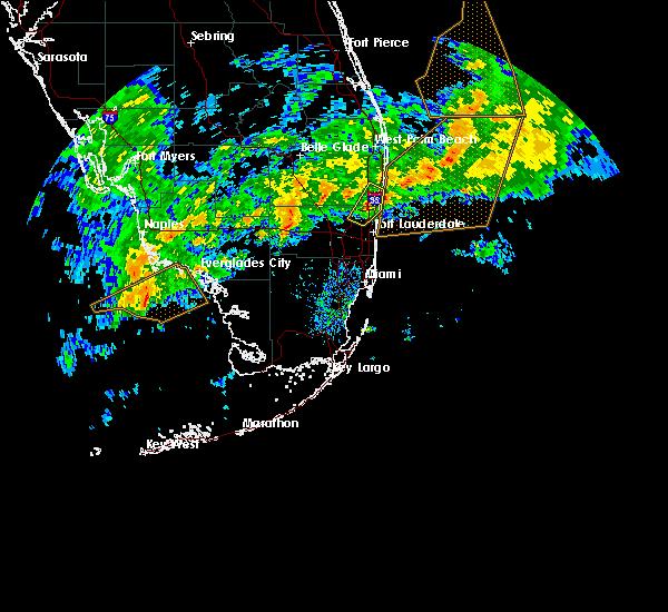 Interactive Hail Maps Hail Map for Boca Raton FL