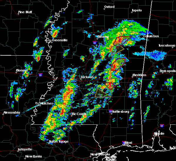 Radar Image for Severe Thunderstorms near Montrose, MS at 2/2/2016 2:28 PM CST