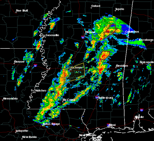 Radar Image for Severe Thunderstorms near Brandon, MS at 2/2/2016 2:49 PM CST