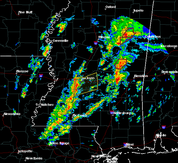 Radar Image for Severe Thunderstorms near Newton, MS at 2/2/2016 2:54 PM CST