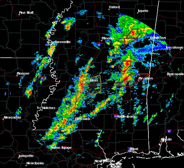 Radar Image for Severe Thunderstorms near Newton, MS at 2/2/2016 3:06 PM CST