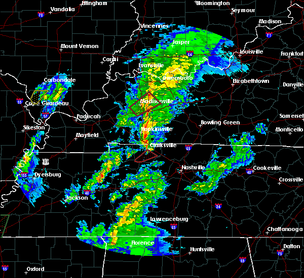 Radar Image for Severe Thunderstorms near Sacramento, KY at 2/2/2016 3:57 PM CST