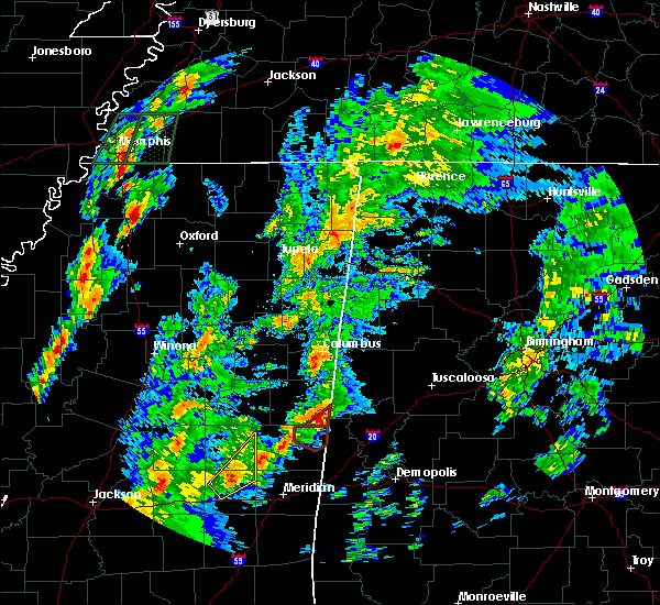 Radar Image for Severe Thunderstorms near Aliceville, AL at 2/2/2016 4:26 PM CST