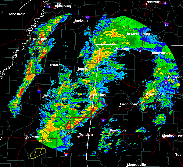 Radar Image for Severe Thunderstorms near Aliceville, AL at 2/2/2016 4:44 PM CST