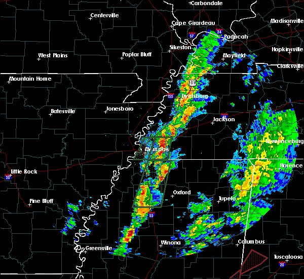 Radar Image for Severe Thunderstorms near Holly Springs, MS at 2/2/2016 4:48 PM CST