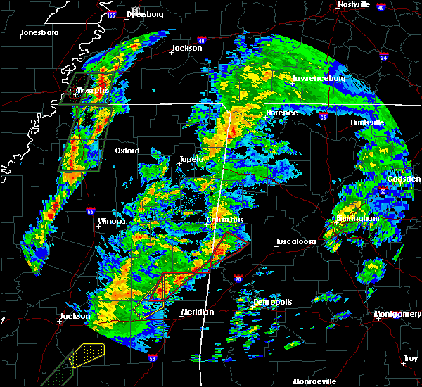 Radar Image for Severe Thunderstorms near Aliceville, AL at 2/2/2016 4:50 PM CST