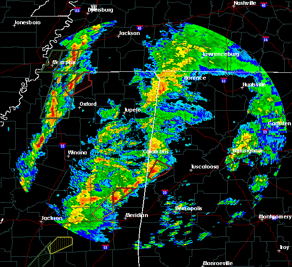Radar Image for Severe Thunderstorms near Aliceville, AL at 2/2/2016 4:56 PM CST