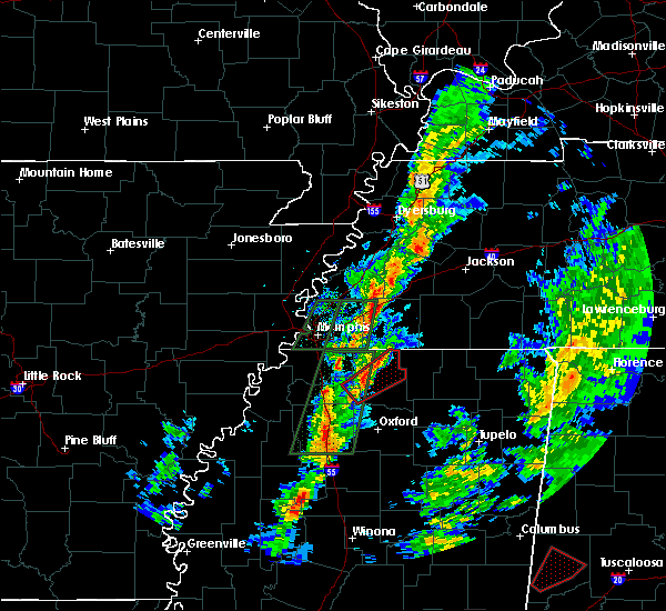 Radar Image for Severe Thunderstorms near Holly Springs, MS at 2/2/2016 4:56 PM CST