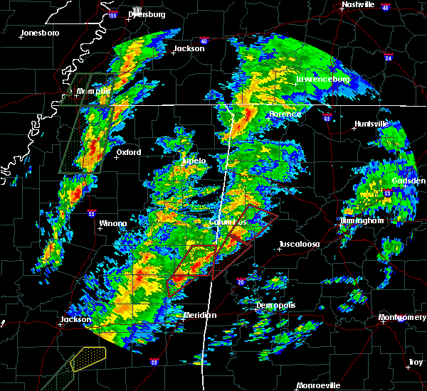 Radar Image for Severe Thunderstorms near Pickensville, AL at 2/2/2016 5:14 PM CST