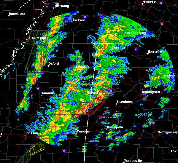 Radar Image for Severe Thunderstorms near Aliceville, AL at 2/2/2016 5:18 PM CST
