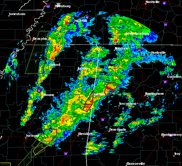 Radar Image for Severe Thunderstorms near Fayette, AL at 2/2/2016 5:51 PM CST