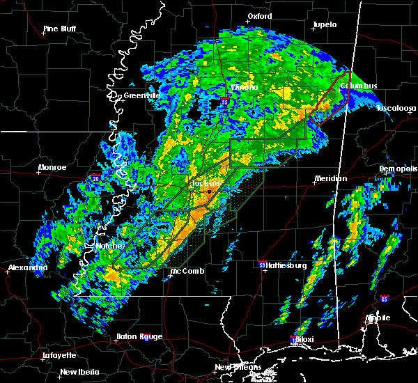 Radar Image for Severe Thunderstorms near Georgetown, MS at 2/2/2016 7:59 PM CST
