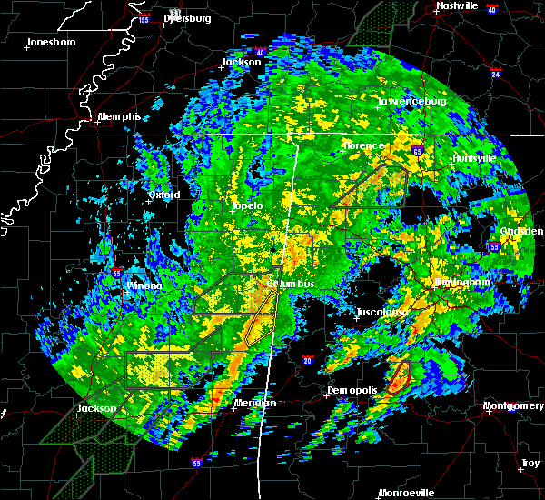 Radar Image for Severe Thunderstorms near Pickensville, AL at 2/2/2016 10:47 PM CST