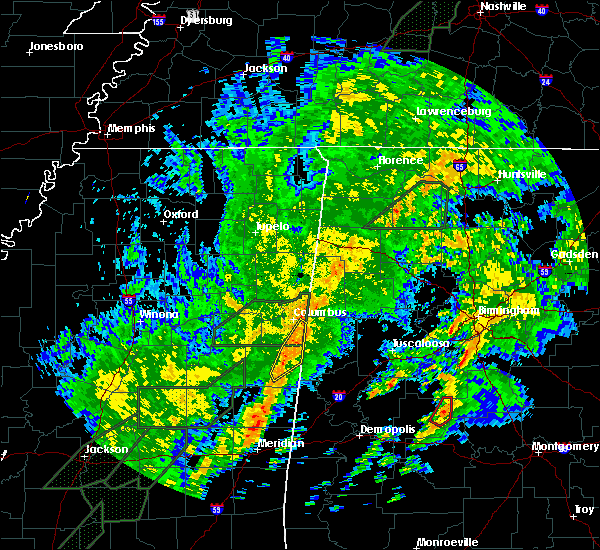 Radar Image for Severe Thunderstorms near Pickensville, AL at 2/2/2016 10:57 PM CST