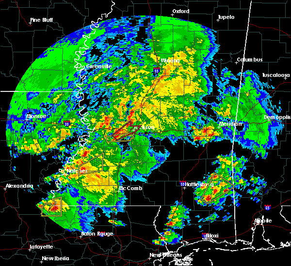 Radar Image for Severe Thunderstorms near Fayette, MS at 2/15/2016 11:09 AM CST