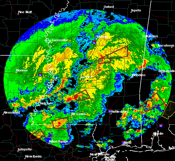 Radar Image for Severe Thunderstorms near Noxapater, MS at 2/15/2016 12:29 PM CST