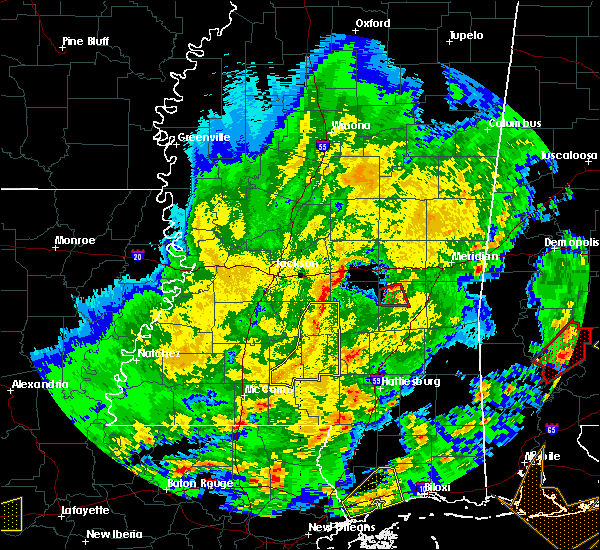 Radar Image for Severe Thunderstorms near Montrose, MS at 2/15/2016 2:08 PM CST