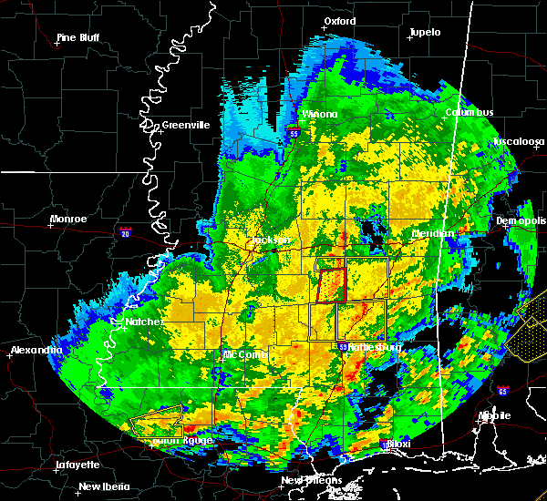 Radar Image for Severe Thunderstorms near Ellisville, MS at 2/15/2016 2:37 PM CST