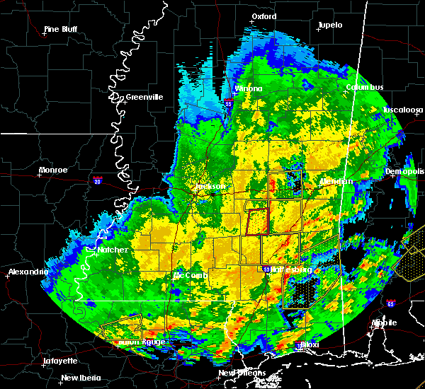 Radar Image for Severe Thunderstorms near Newton, MS at 2/15/2016 2:43 PM CST