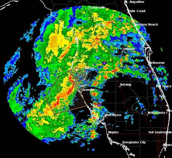 Radar Image for Severe Thunderstorms near Tampa, FL at 2/16/2016 2:37 AM EST