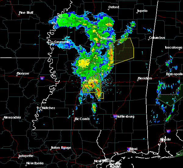 Radar Image for Severe Thunderstorms near Polkville, MS at 2/23/2016 10:09 PM CST