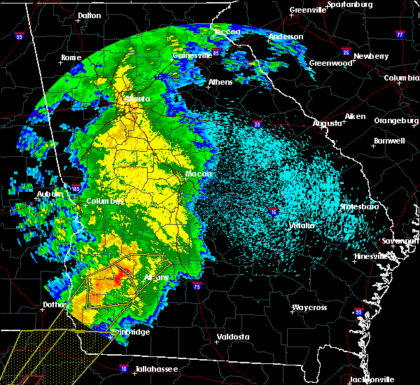 Radar Image for Severe Thunderstorms near Dawson, GA at 2/24/2016 12:53 AM EST