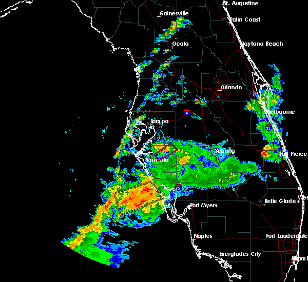 Interactive Hail Maps  Hail Map For Charlotte Harbor FL