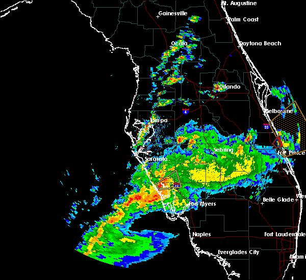 Map Of Port Charlotte Florida.Interactive Hail Maps Hail Map For Port Charlotte Fl