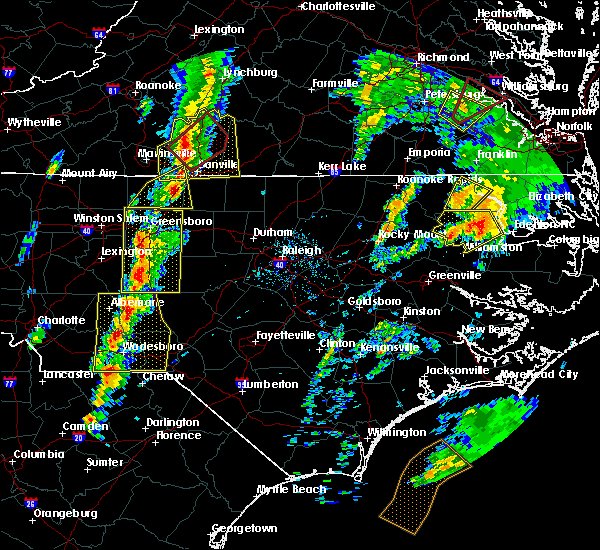Radar Image for Severe Thunderstorms near Altamahaw, NC at 2/24/2016 2:47 PM EST