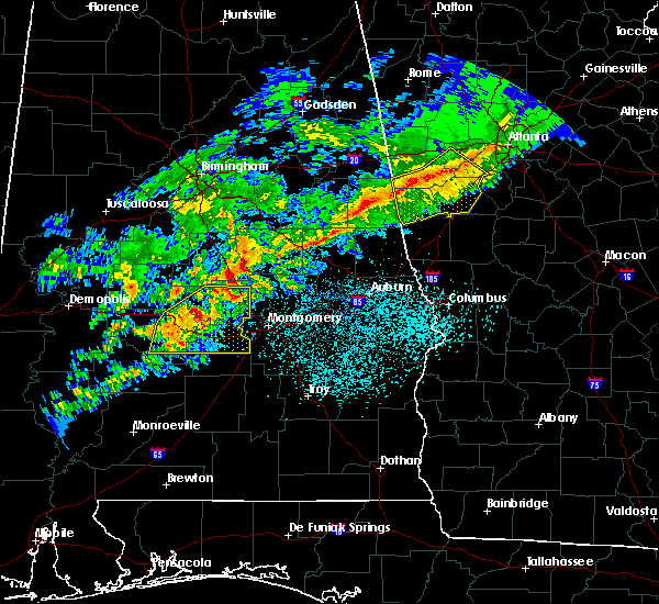 Interactive Hail Maps - Hail Map for Prattville, AL