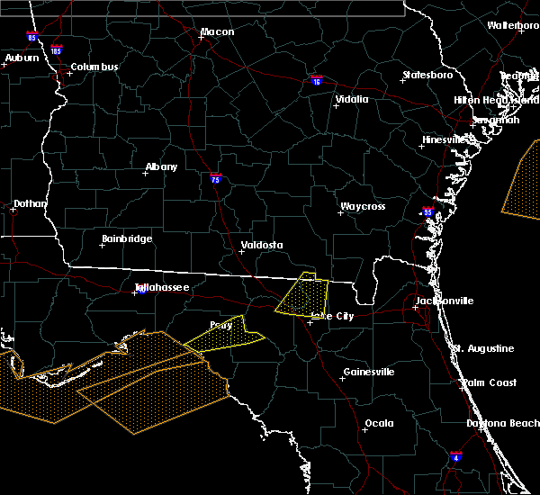 Radar Image for Severe Thunderstorms near Lake City, FL at 3/4/2016 12:20 AM EST