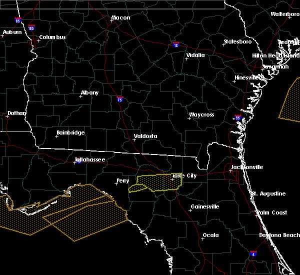 Radar Image for Severe Thunderstorms near Lake City, FL at 3/4/2016 12:38 AM EST