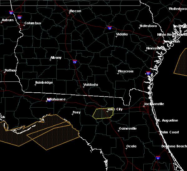 Radar Image for Severe Thunderstorms near Lake City, FL at 3/4/2016 12:52 AM EST