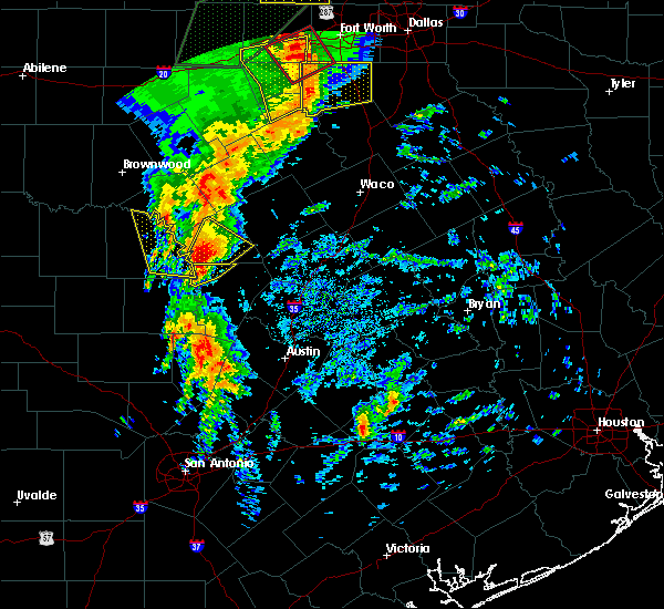 Radar Image for Severe Thunderstorms near Lampasas, TX at 3/8/2016 7:59 AM CST