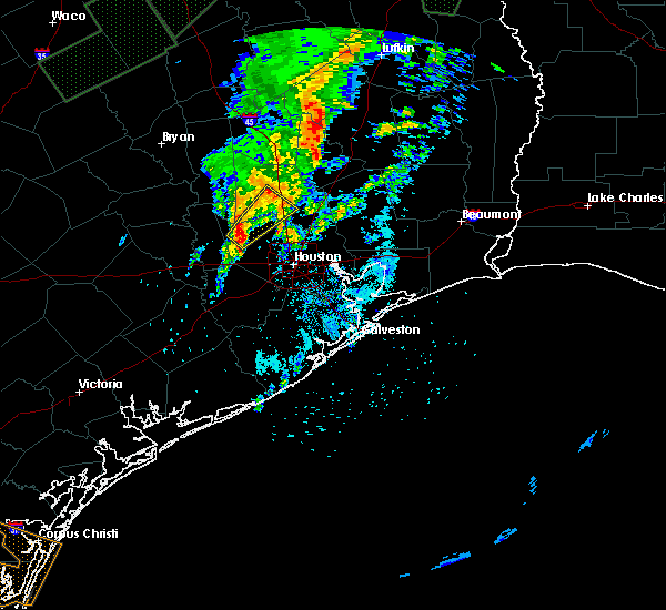 Radar Image for Severe Thunderstorms near Tomball, TX at 3/9/2016 6:34 AM CST