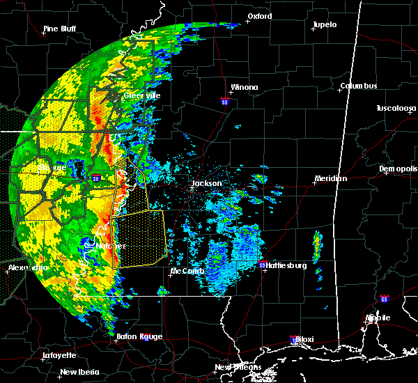 Radar Image for Severe Thunderstorms near Roxie, MS at 3/10/2016 10:10 AM CST