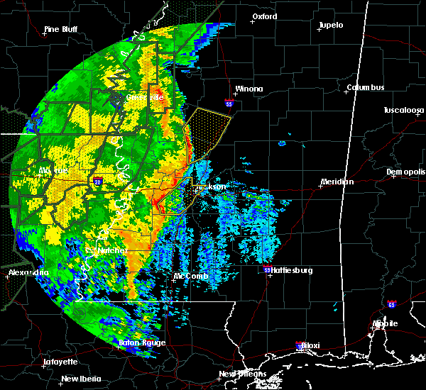 Radar Image for Severe Thunderstorms near Eden, MS at 3/10/2016 11:15 AM CST