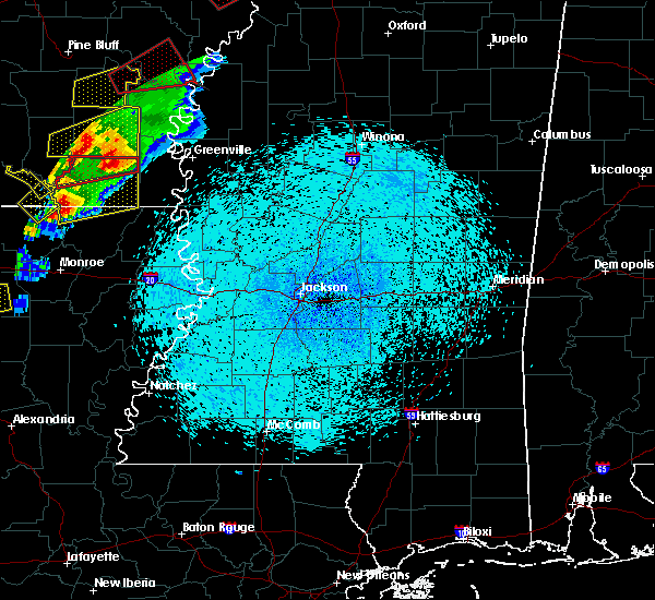 Radar Image for Severe Thunderstorms near Greenville, MS at 3/13/2016 8:42 PM CDT
