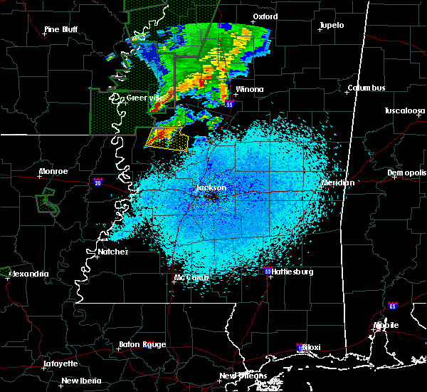 Radar Image for Severe Thunderstorms near Eden, MS at 3/14/2016 12:17 AM CDT