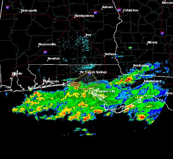 Radar Image for Severe Thunderstorms near Ponce de Leon, FL at 3/17/2016 10:29 AM CDT