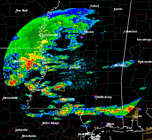 Radar Image for Severe Thunderstorms near Wesson, MS at 3/17/2016 2:36 PM CDT