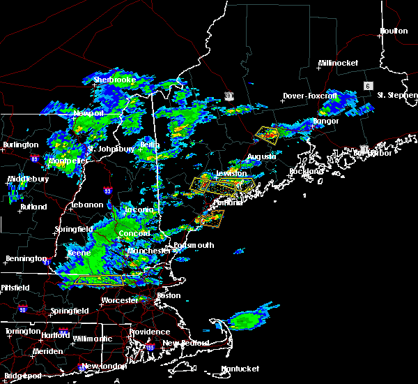 Radar Image for Severe Thunderstorms near Bath, ME at 3/17/2016 3:48 PM EDT
