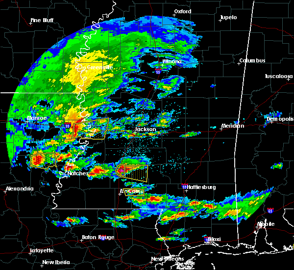 Radar Image for Severe Thunderstorms near Wesson, MS at 3/17/2016 3:04 PM CDT