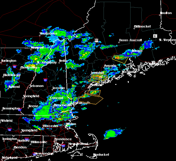 Radar Image for Severe Thunderstorms near Lewiston, ME at 3/17/2016 4:10 PM EDT