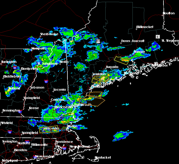 Radar Image for Severe Thunderstorms near Lewiston, ME at 3/17/2016 4:27 PM EDT