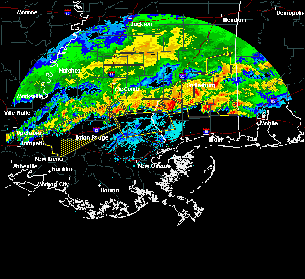 Radar Image for Severe Thunderstorms near Picayune, MS at 3/17/2016 6:28 PM CDT