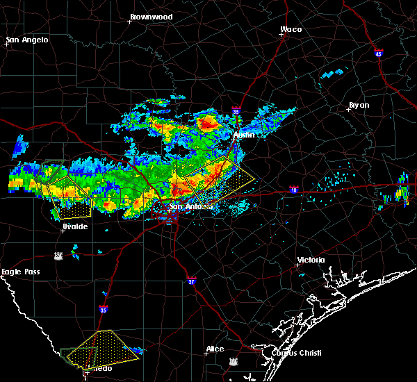 Radar Image for Severe Thunderstorms near Wimberley, TX at 3/18/2016 7:42 PM CDT