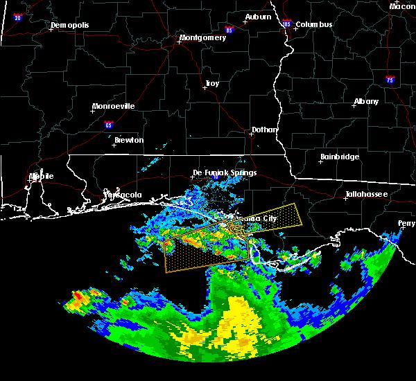 Radar Image for Severe Thunderstorms near Panama City, FL at 3/25/2016 5:34 AM CDT