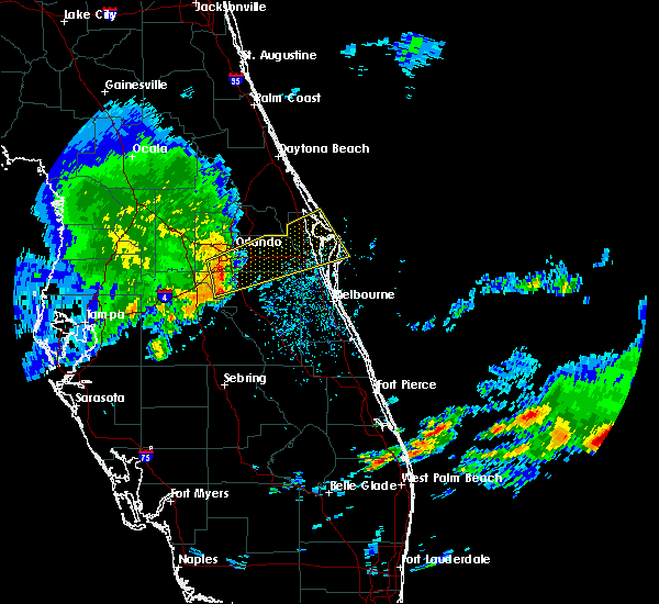 Radar Image for Severe Thunderstorms near Cocoa West, FL at 3/25/2016 3:00 PM EDT