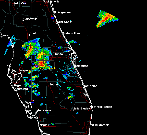 Radar Image for Severe Thunderstorms near Buenaventura Lakes, FL at 3/26/2016 5:46 PM EDT